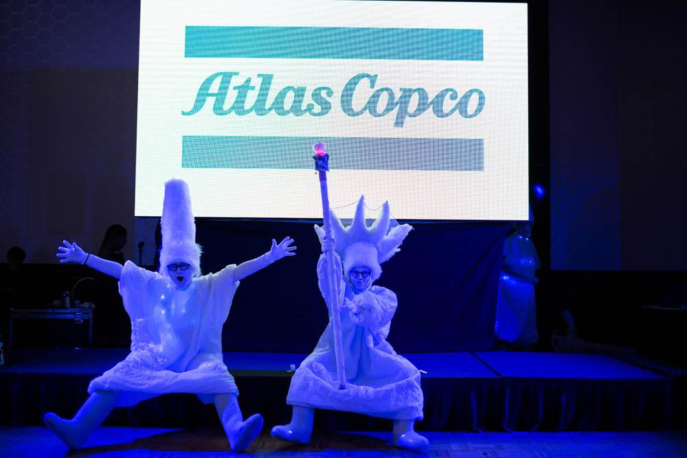 Атлас Копко – корпоративное мероприятие
