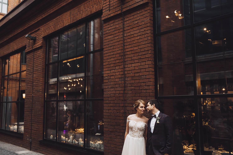 Loft Yard Wedding. Свадьба Марины и Андрея