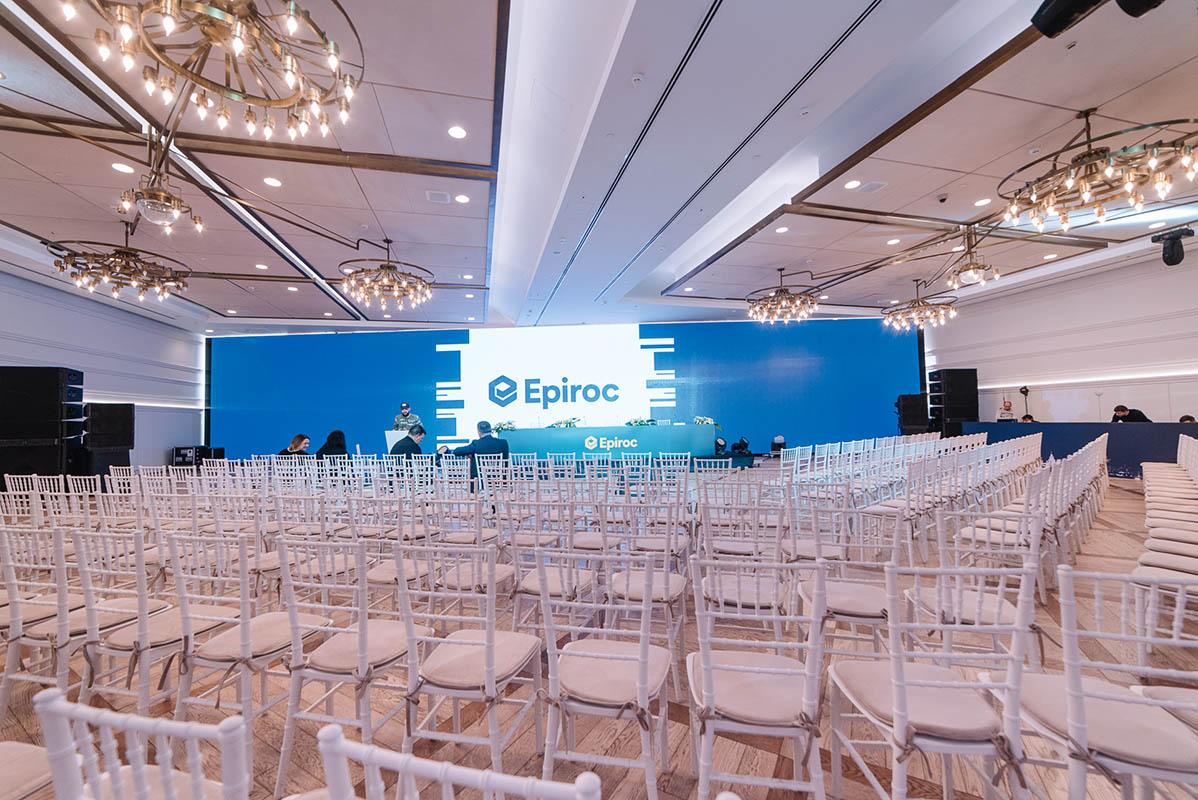 Мероприятие для заказчиков Epiroc